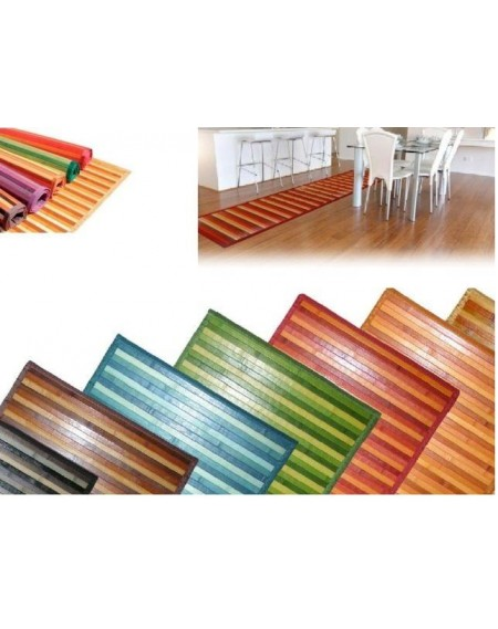 TAPPETO BAMBOO DEGRADE/SOLID 50X240
