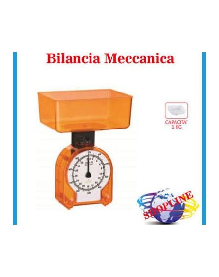 BILANCIA CUCINA 1KG ASS. PVC/DISPLAY