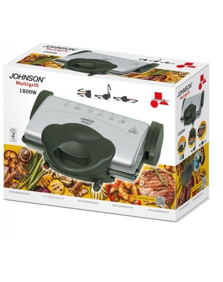 BISTECCHIERA MULTIGRILL 1800W JOHNSON