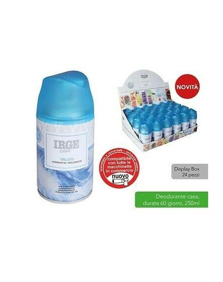 DEO IRGE 250ML AUTOMATIC REFILL FRAGR. ASS.