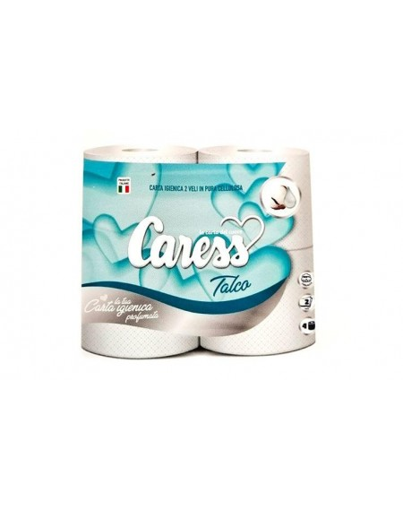 CARESS IGIENICA X 4 TALCO